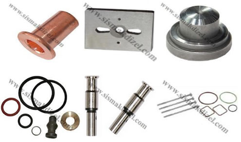 Spare parts for diesel pump